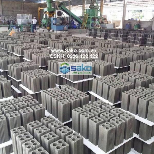 gach block khong nung 4 lo rong