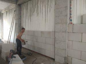 Gạch siêu nhẹ 600x300x100mm ốp tường