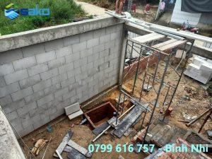 Tường gạch AAC