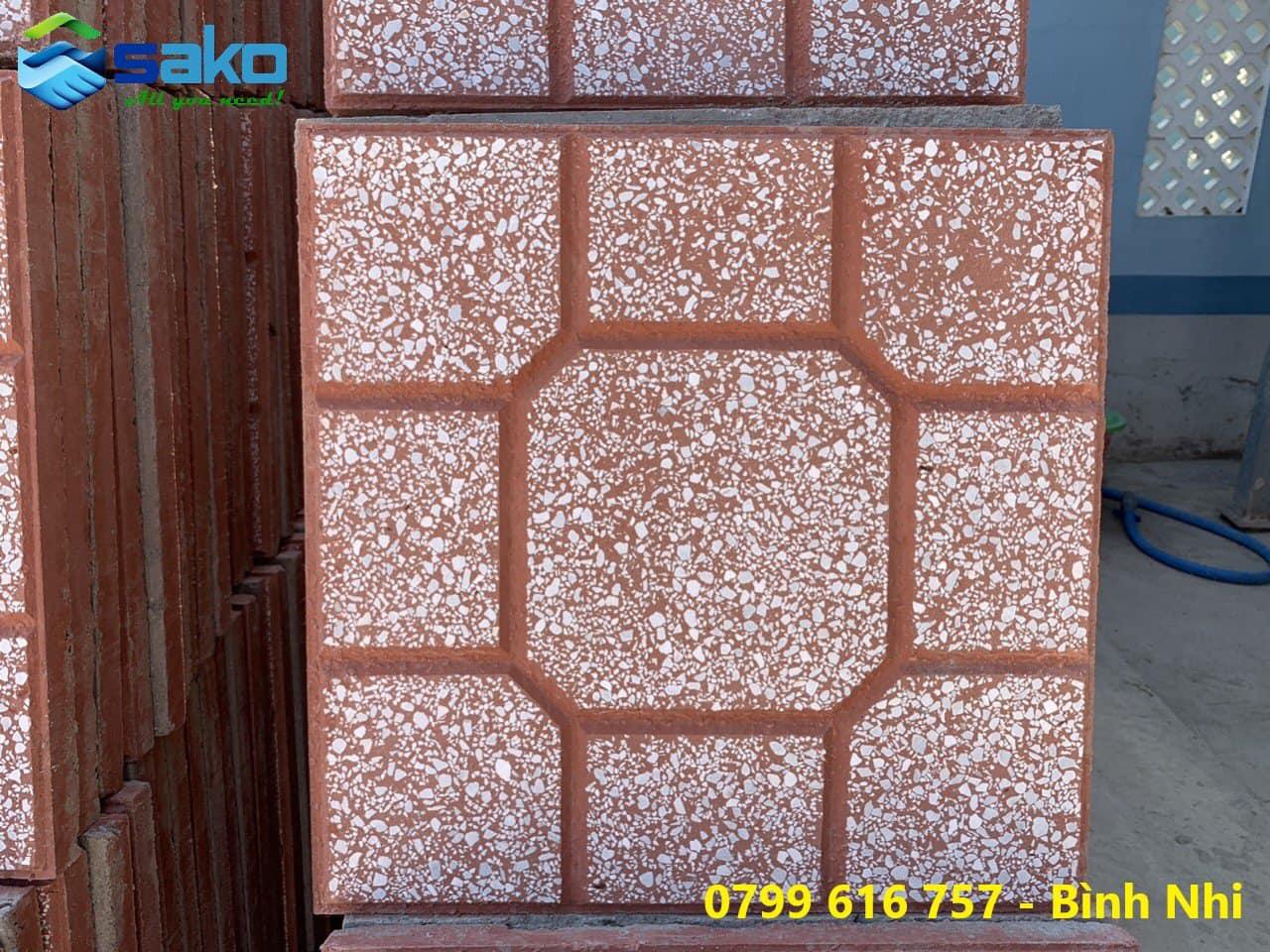 Gạch Terrazzo kích thước 400x400x27- 30mm