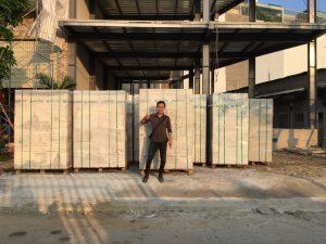 xây nhà trọ bằng gạch bê tông khí chưng áp