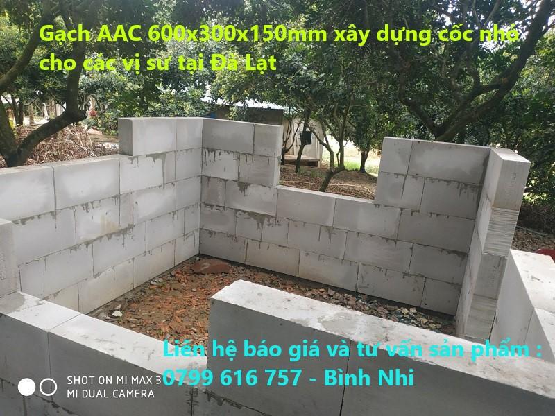 Gạch AAC tại Đà Lạt - Lâm Đồng