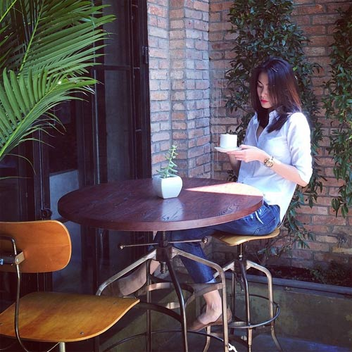 Quán cà phê gạch nhẹ AAC